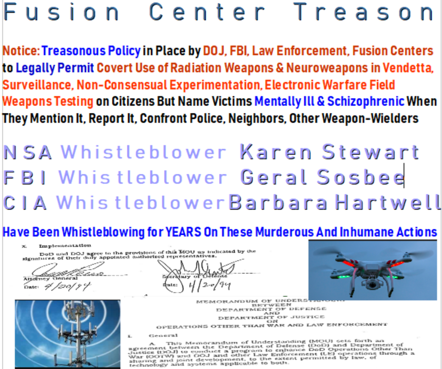 Proof Of Treasonous Military and Corporations Testing